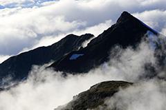 乗鞍岳のオリジナルプリント