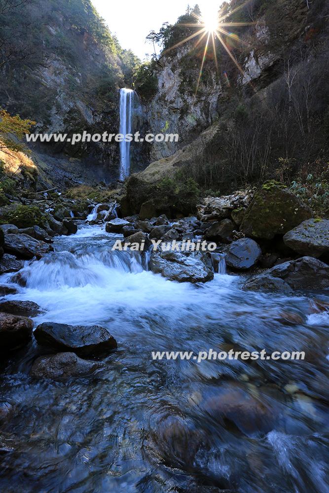 平湯大滝の写真素材