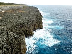 南大東島の空撮