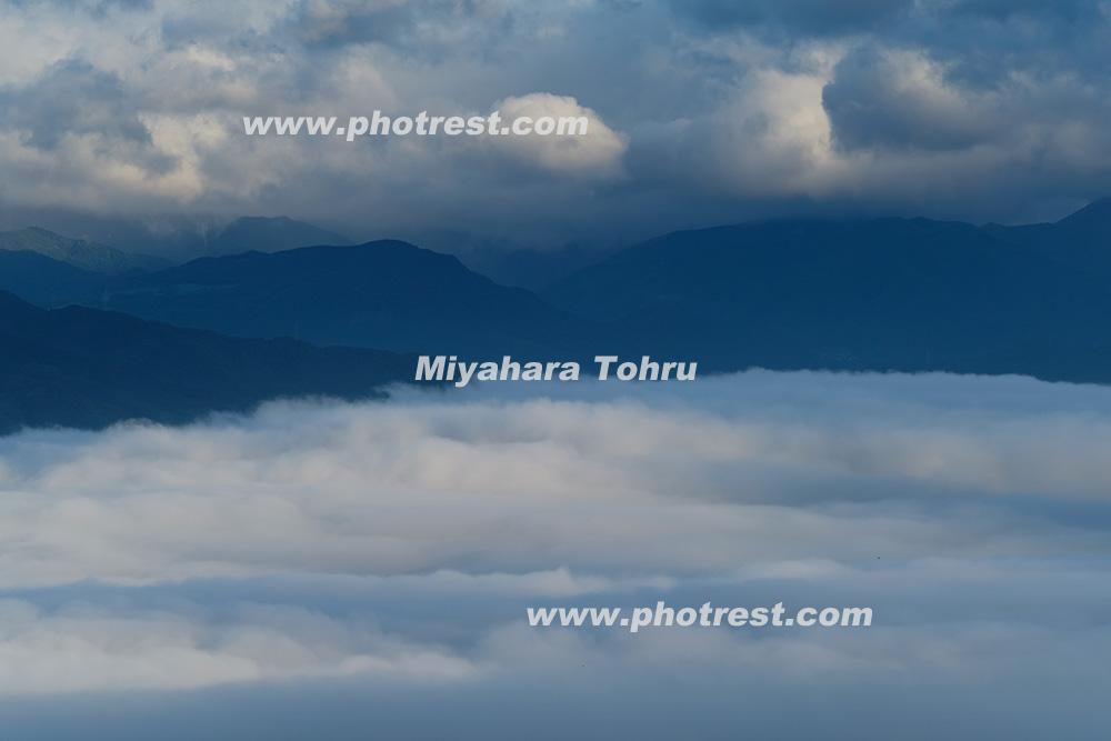 雲海の写真素材