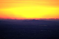 日の出のオリジナルプリント