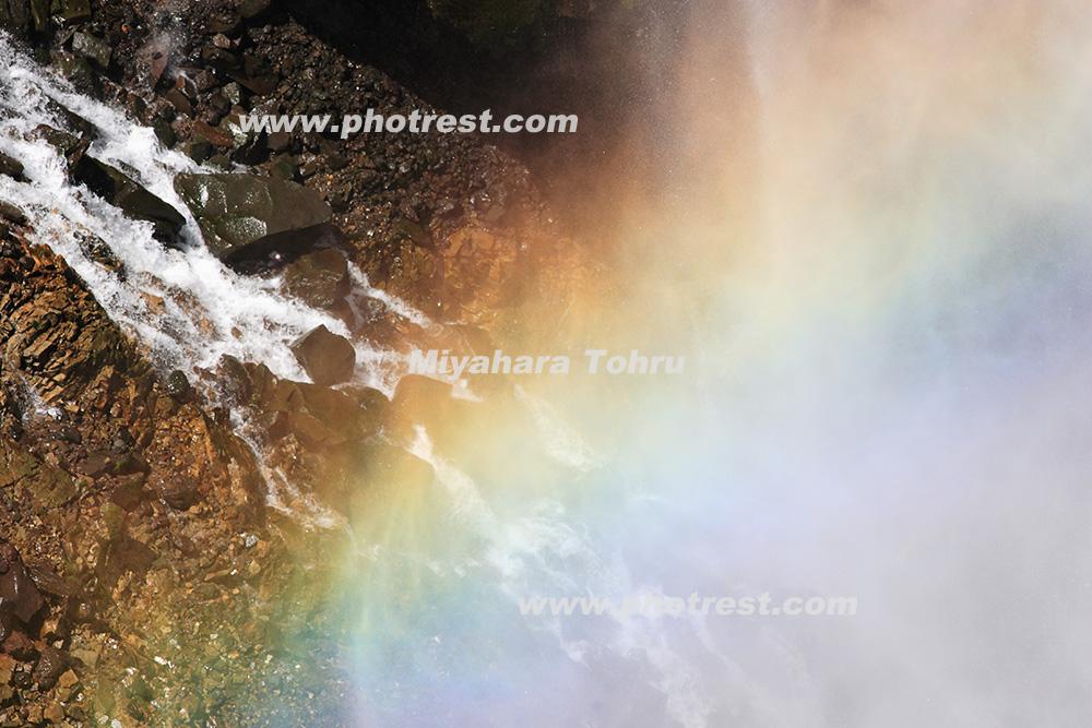 華厳の滝の写真素材