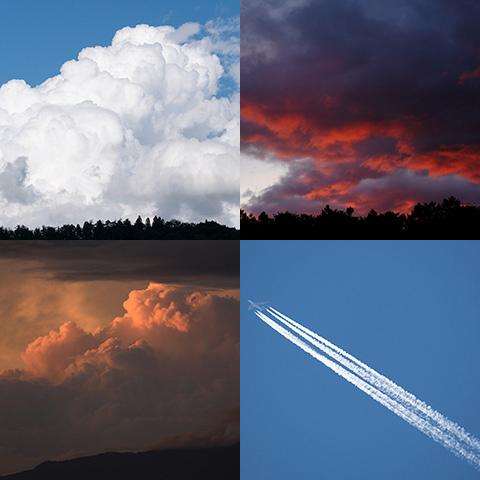 おすすめのテーマ『雲のある眺め』