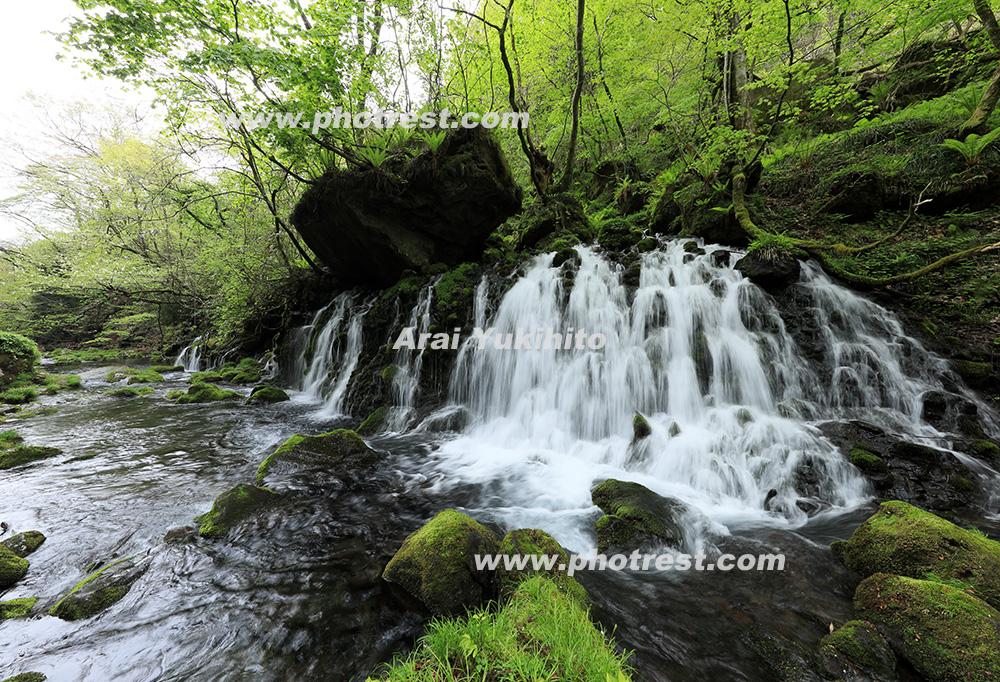 元滝の写真素材