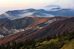 紅葉の草津白根山