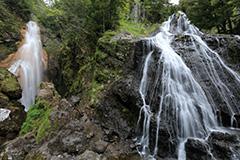夏の三本滝