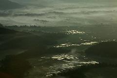 夏の尾瀬ヶ原の夜明け