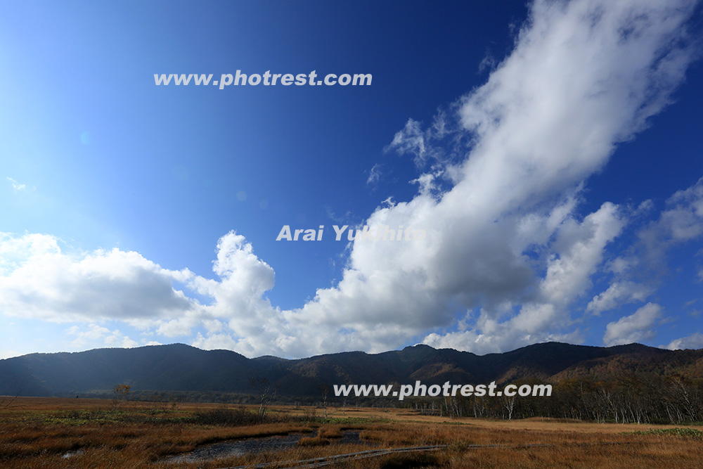尾瀬ヶ原の写真素材