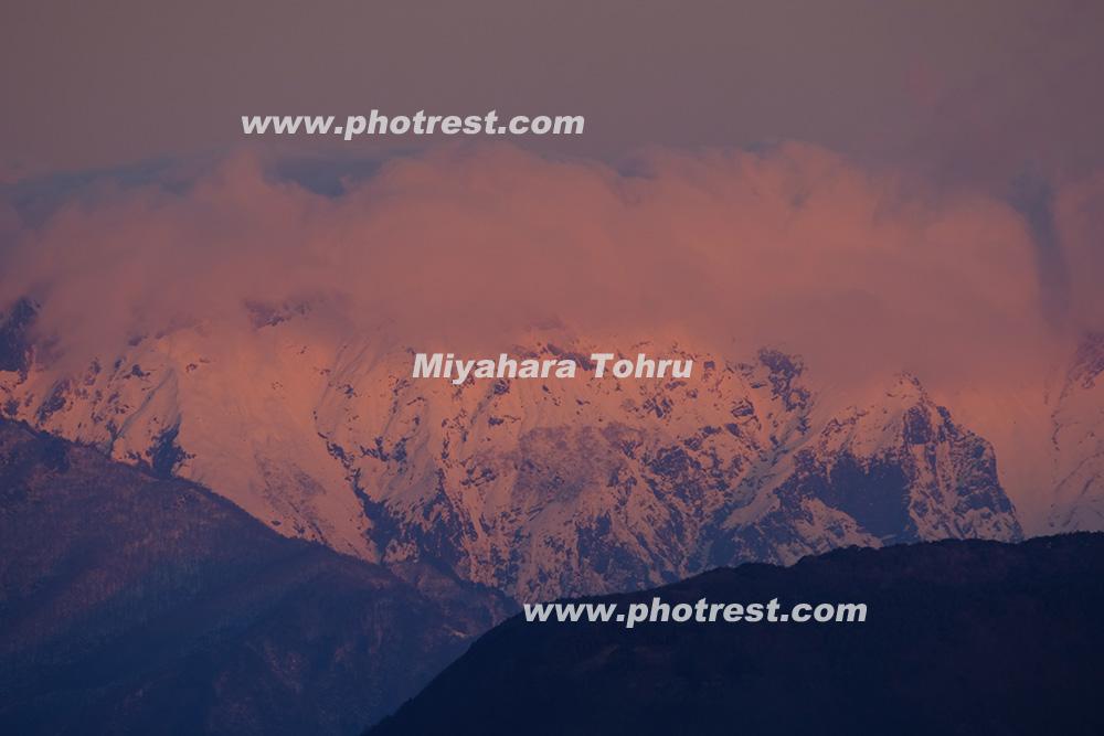 谷川岳の写真素材