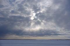 冬の風蓮湖