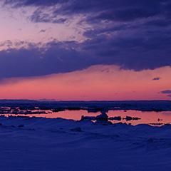 オホーツク海のフォト作品