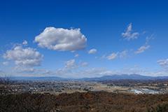 冬の赤城山