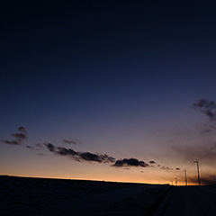 夕景のフォト作品