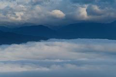 雲海のオリジナルプリント