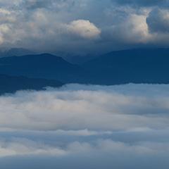 雲海のフォト作品