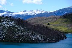 冬の野反湖