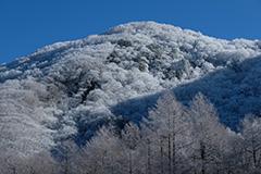 冬の黒檜山