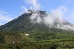 夏の羅臼岳