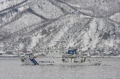 冬の海上保安庁