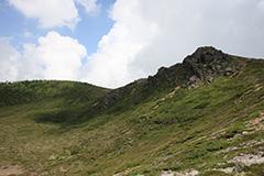 夏の本白根山