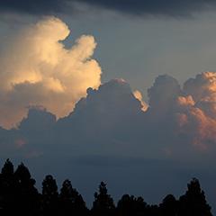 入道雲のフォト作品