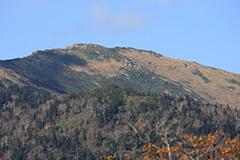 紅葉の至仏山