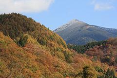 紅葉の笠ヶ岳