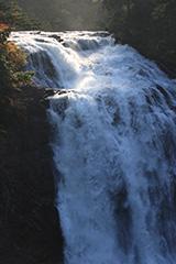 秋の三条の滝