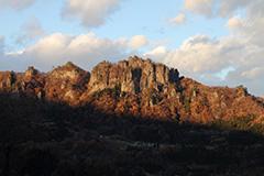 紅葉の岩櫃山