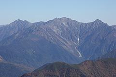 秋の槍ヶ岳