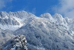 冬の八海山