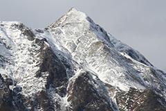 冬の武能岳
