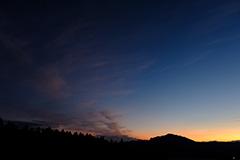 夕景のオリジナルプリント