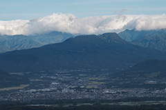 秋の三峰山