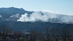 冬の赤城高原
