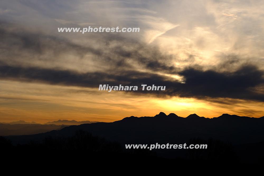 榛名山の写真素材