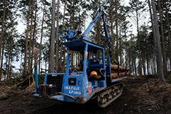 林業のオリジナルプリント